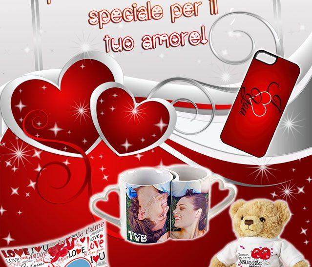 Per San Valentino personalizza un regalo speciale per il tuo amore!