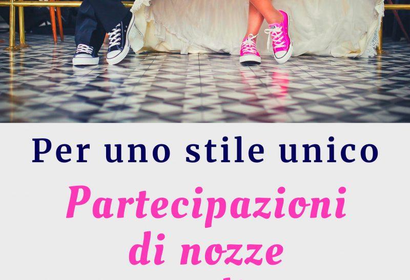 Partecipazioni di nozze personalizzate